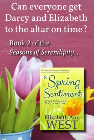 a Spring Sentiment book cover