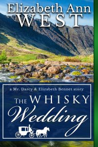 the whisky wedding book cover by elizabeth ann west a pride and prejudice variation Mr. darcy and Elizabeth Bennet story